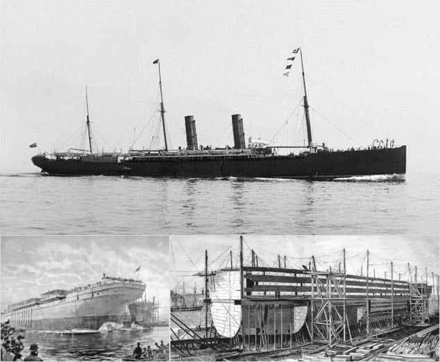трансатлантический лайнер